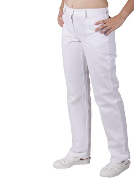 1123867d844 bílé lékařské kalhoty bílé lékařské kalhoty